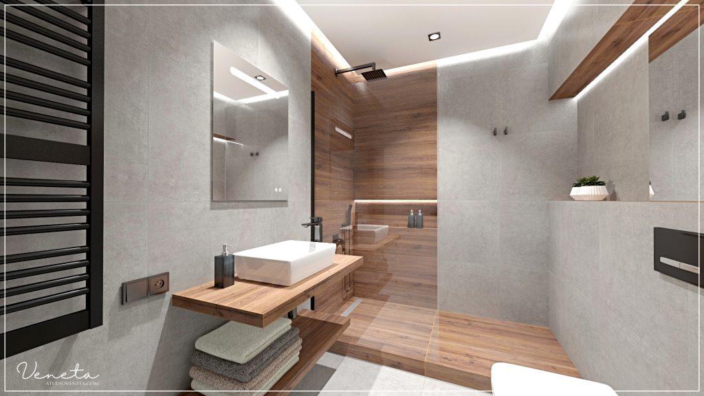 SaniWell projekt łazienki