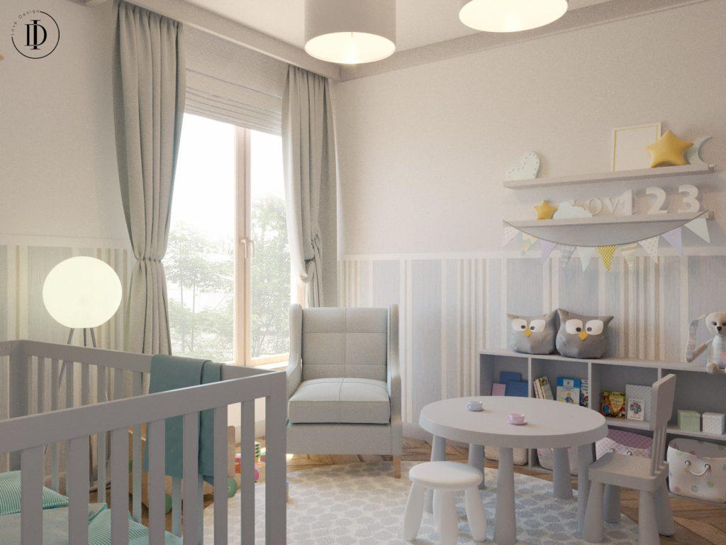 Projekt pokoju dla dziecka - remonty Kraków