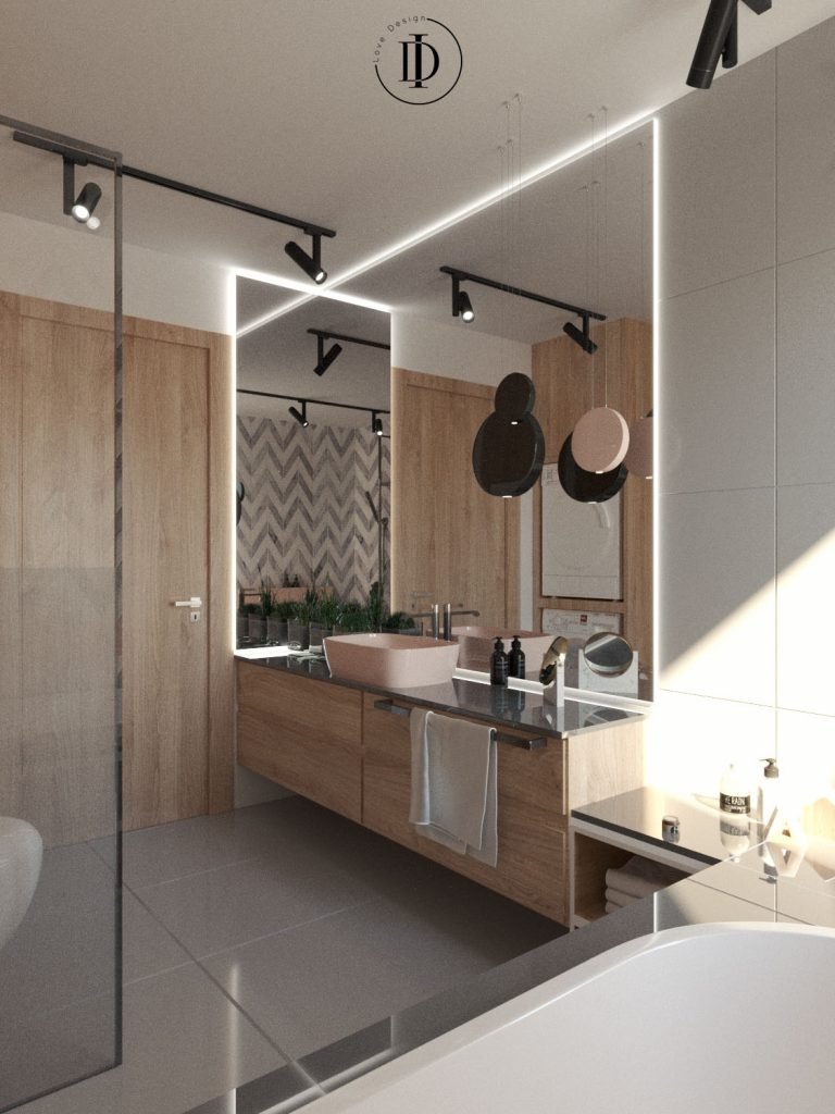 Luksusowa i nowoczesna łazienka
