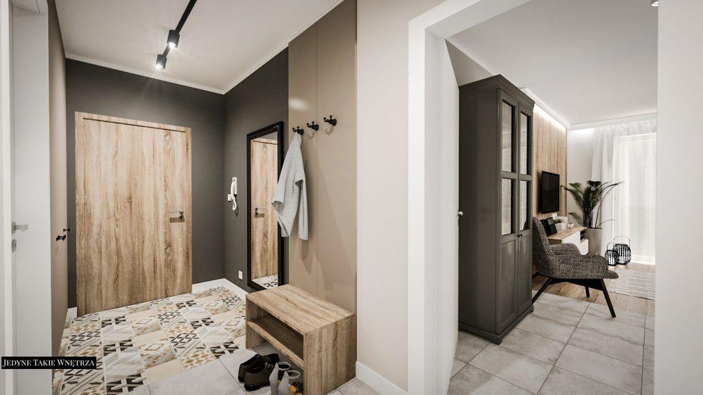 Mieszkanie zaprojektowane i kompleksowo wykończone