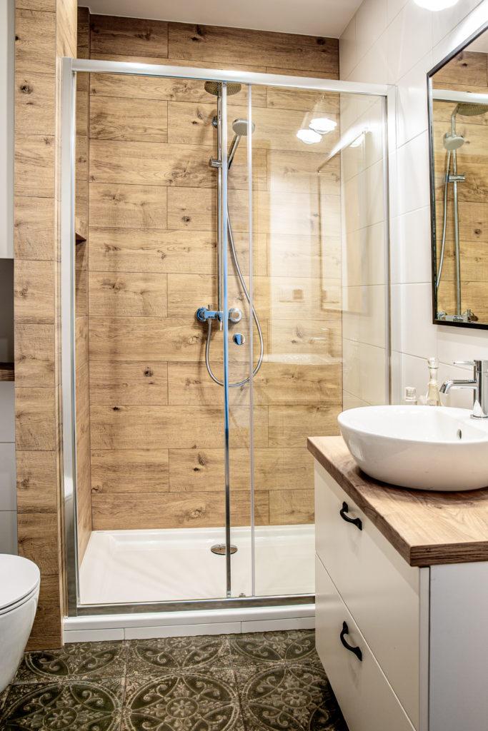 Aranżacja małej łazienki - SaniWell