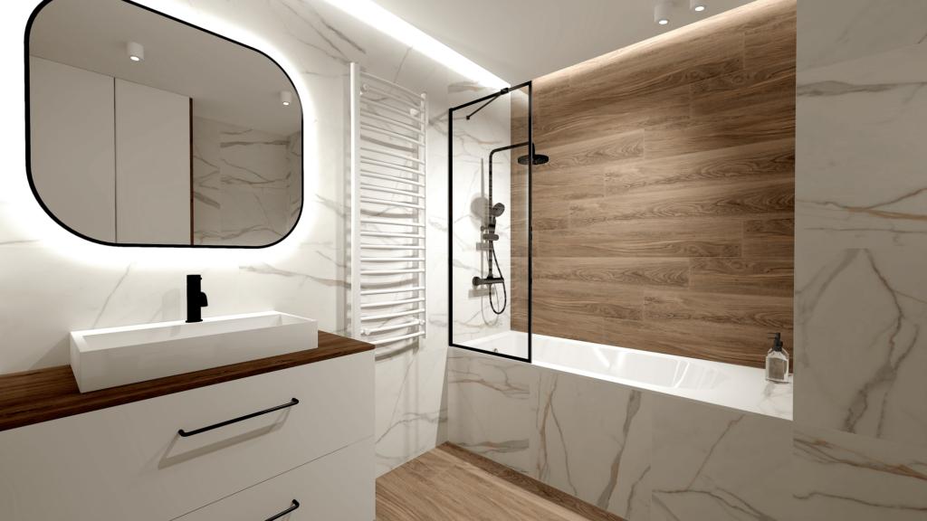 SaniWell-Czarnowiejska. Ekskluzywne wykończenie łazienek pod klucz.